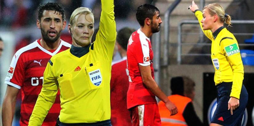 Türk futbolcuya hakemlik cezası!