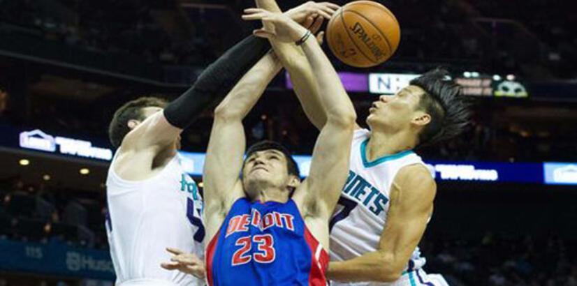 Ersan'lı Detroit Pistons'ın galibiyet serisine Carlotte Hornets son verdi