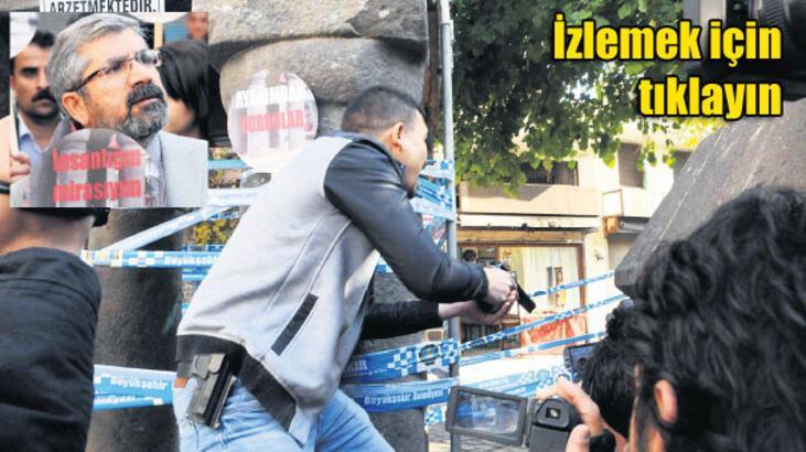 Saldırganları önce sivil polis sandık