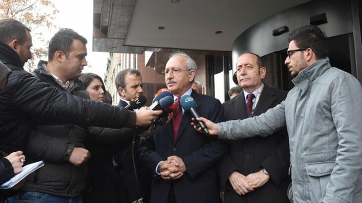 Kılıçdaroğlu'ndan Meclis Başkanı Kahraman'a ziyaret
