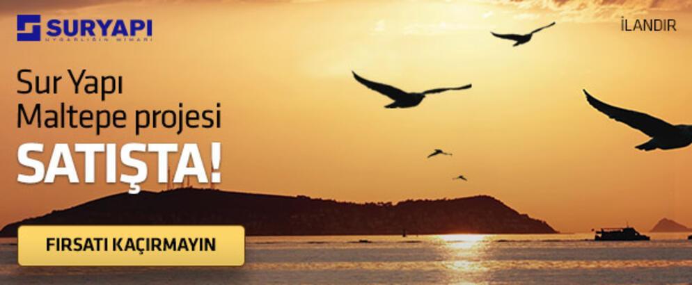 SUR YAPI MALTEPE PROJESİ SATIŞTA!