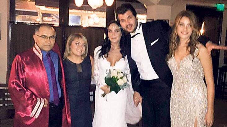 Tarık Akan'ın  oğlu evlendi