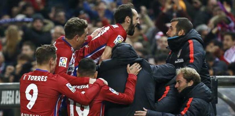 Atletico Madrid, Barça'yı yakaladı