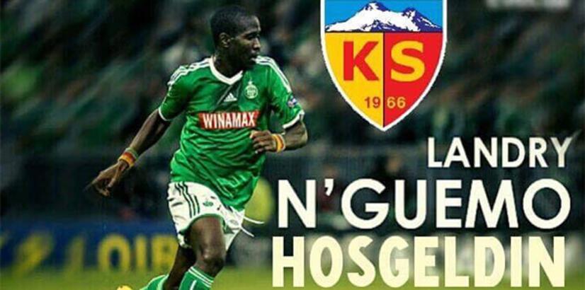 N'guemo, Kayserispor'da! 2 yıllık imza...