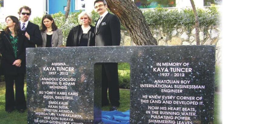 Kaya Tuncer anısına ESBAŞ'a anıt kaya!