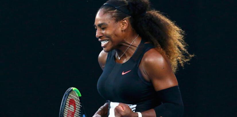 Avustralya Açık'ta şampiyon Serena Williams