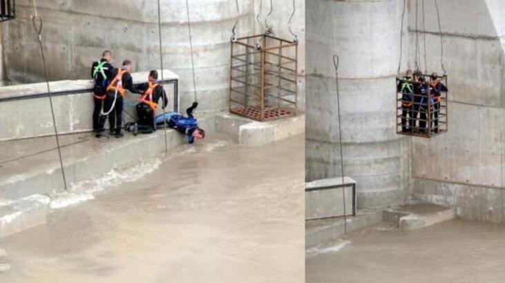 Baraja kafes içinde giren dalgıç öldü