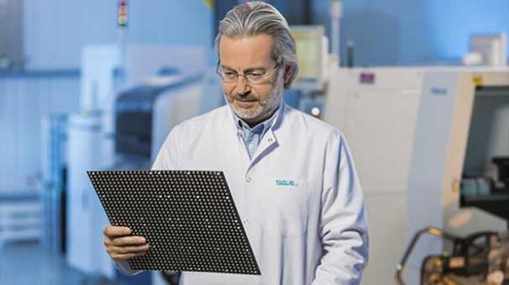 'Taglig' ürettiği yerli LED ekranları dünyaya satacak