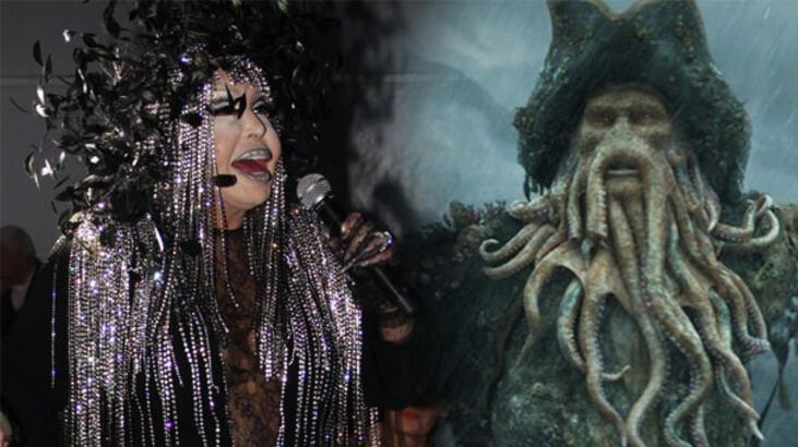 Diva Bülent Ersoy'a, Davy Jones benzetmesi