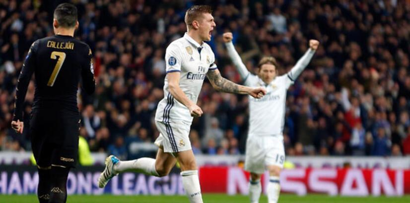 Real Madrid-Napoli: 3-1