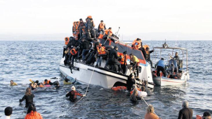 Avrupa'ya varan mülteci  sayısı 1 milyonu geçti