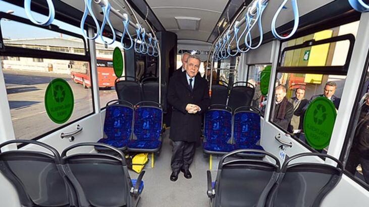 İzmir'de elektrikli otobüs devrimi!
