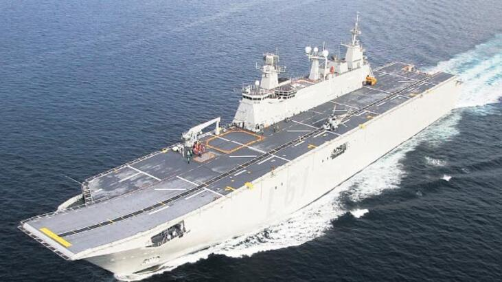 'Donanma'nın amiral gemisi Anadolu yolda