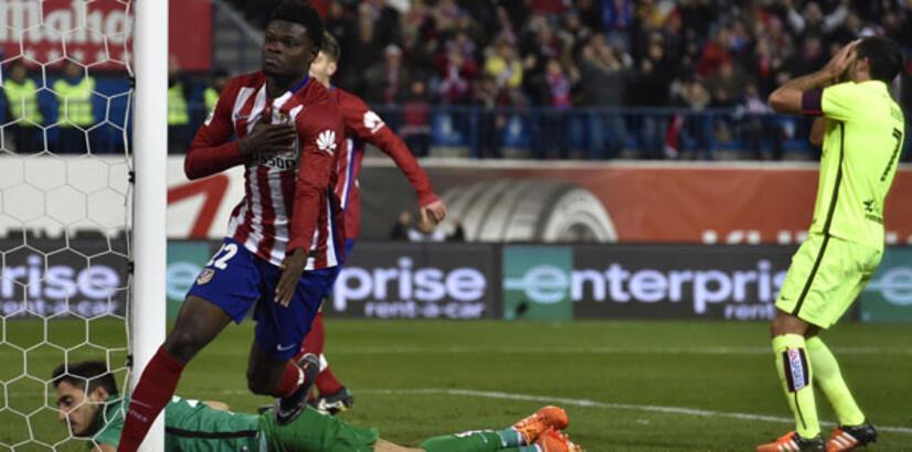 La Liga'da Atletico Madrid maç fazlasıyla liderliğe oturdu