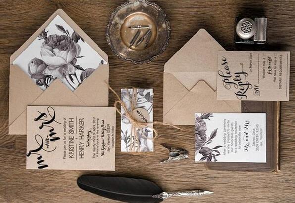En güzel davetiye modelleri (Düğün, nişan davetiye modelleri)