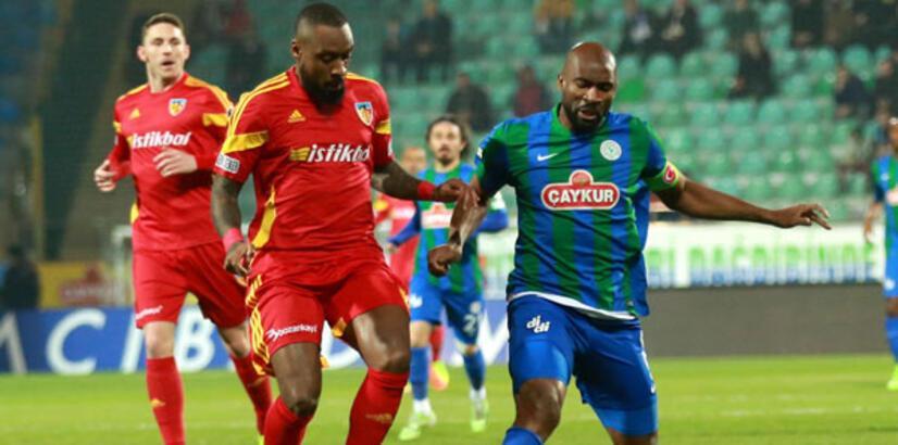 Çaykur Rizespor-Kayserispor: 2-4