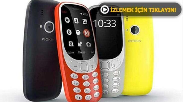 Nokia 3310 efsanesi geri döndü! İşte fiyatı...