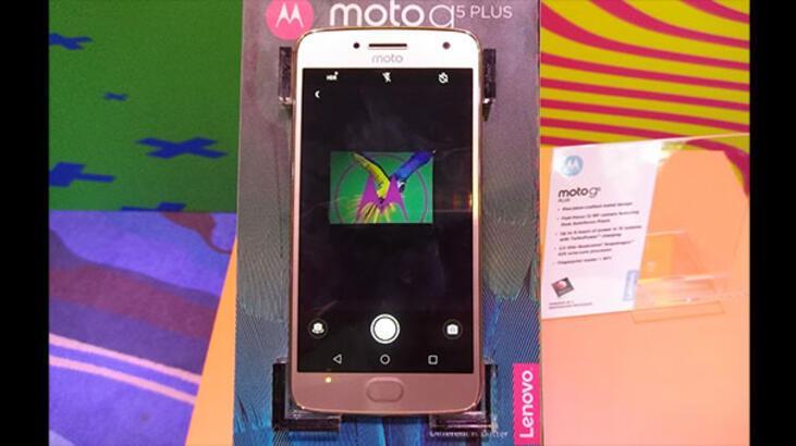 "Lenovo'dan iki yeni ""G"": Moto G5 ve Moto G5 Plus"