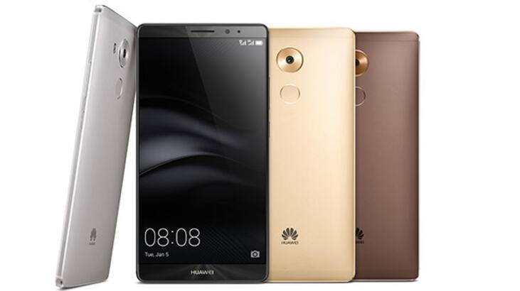 Huawei Mate 8, CES 2016'da tanıtıldı