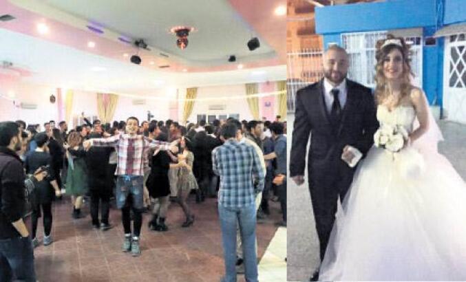 Düğünde kimse yok dediler, 400 kişi böyle geldi