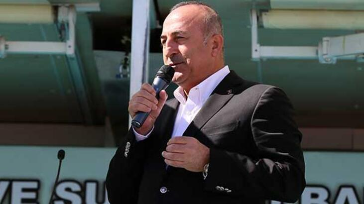 Bakan Çavuşoğlu: Kimse engelleyemez
