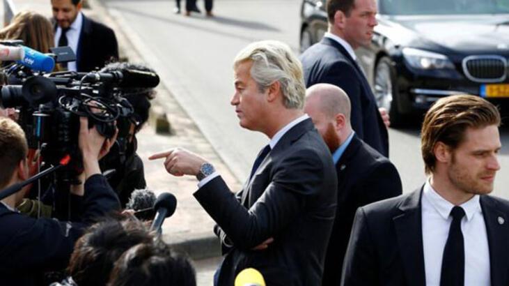 Wilders'ten skandal Türkiye talebi