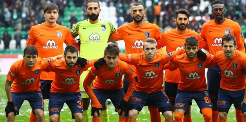 Başakşehirli futbolcular Beşiktaş maçına daldı!