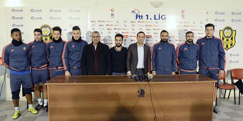 Alima Yeni Malatyaspor transferlerini tanıttı