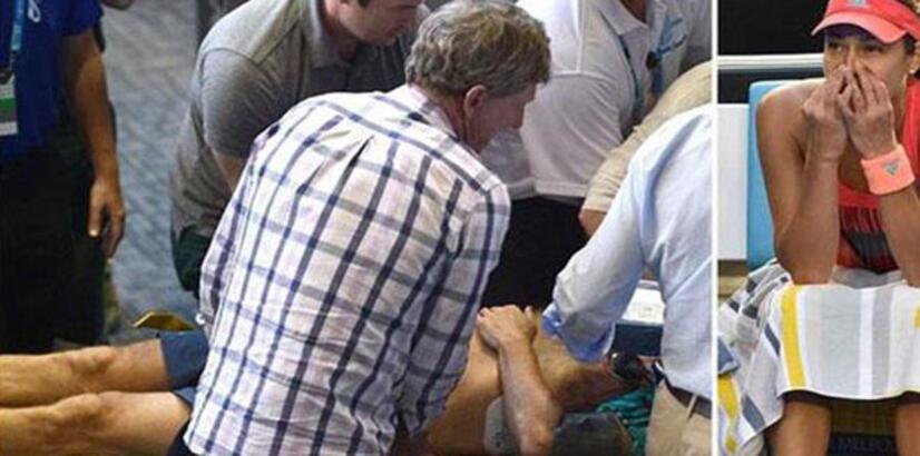 Ana Ivanovic'in yüzü Avustralya Açık'ta yine gülmedi