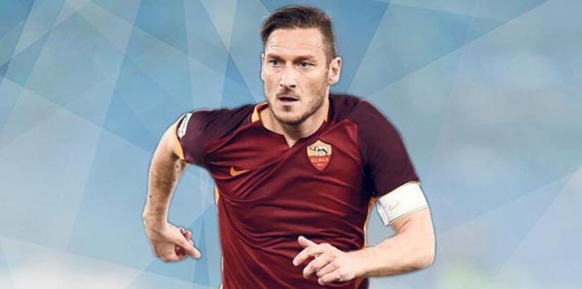 Totti'ye büyük onur