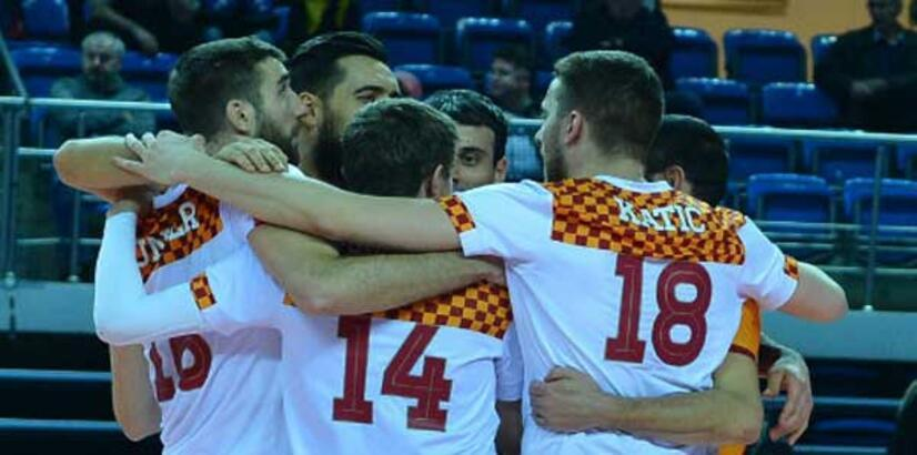Galatasaray HDI Sigorta-Tokat Belediye Plevne: 3-0