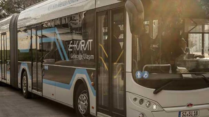Karsan otobüste elektrikleniyor