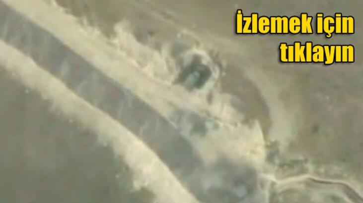 Azerbaycan Ermenistan mevzilerini vurdu