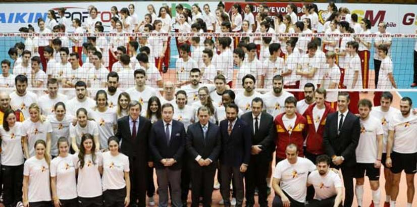 Galatasaray filede yeni evine kavuştu