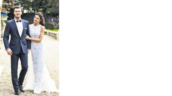 Tatlıtuğ-Dizer çifti  Paris'te evlendi