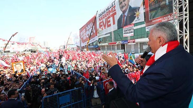 Başbakan Yıldırım: Türkiye'nin güçlü yönetime ihtiyacı var