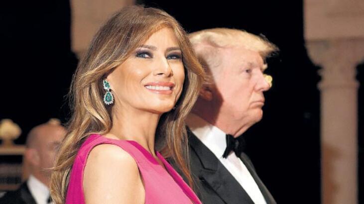 First Lady 'sürprizi'