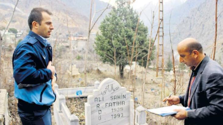 Baraj nedeniyle mezarlar taşınıyor
