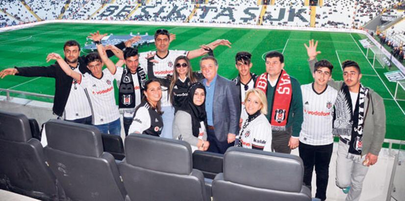 Beşiktaş'ın onur konukları