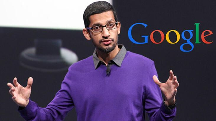 Google CEO'sununkazancı geçen yıla oranla ikiye katlandı