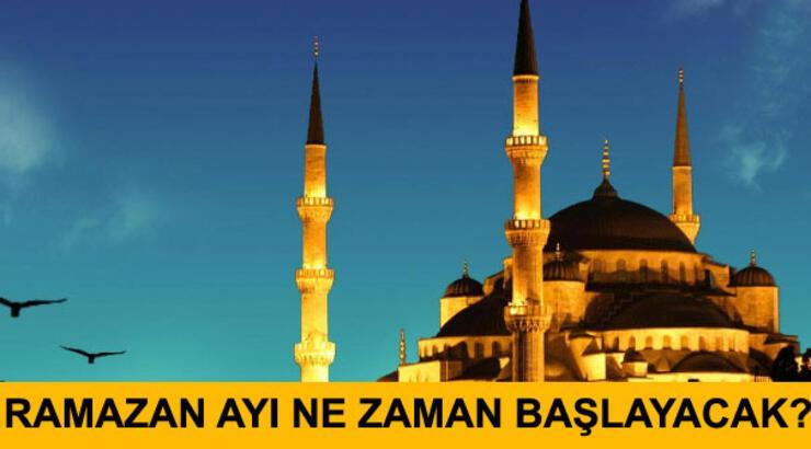 Ramazan ayı ne zaman başlıyor? (Ramazan bayramı tatili kaç gün?)