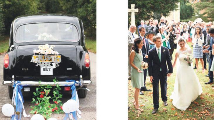 Blair'in malikânesinde muhteşem düğün