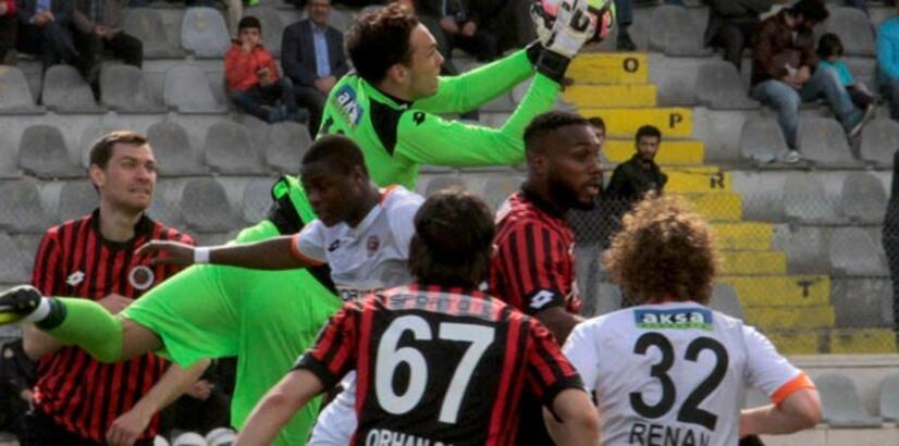 Gençlerbirliği-Adanaspor: 0-1