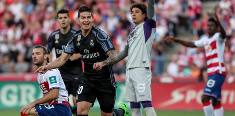 Granada-Real Madrid: 0-4