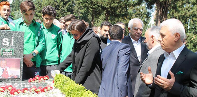 Bursaspor'un eski başkanı merhum İbrahim Yazıcı anıldı