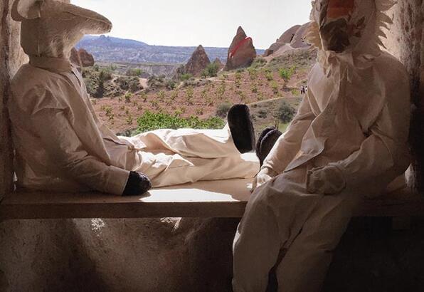 Peter Broderick ve David Allred Cappadox'ta