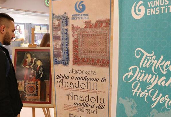 'Anadolu Motiflerinin Dili' sergisi ziyarete açıldı