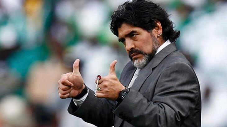 Konami ve Maradona arasındaki olay tatlıya bağlandı