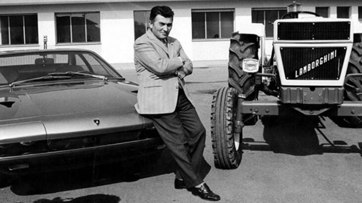 Ferruccio Lamborghini film oluyor!