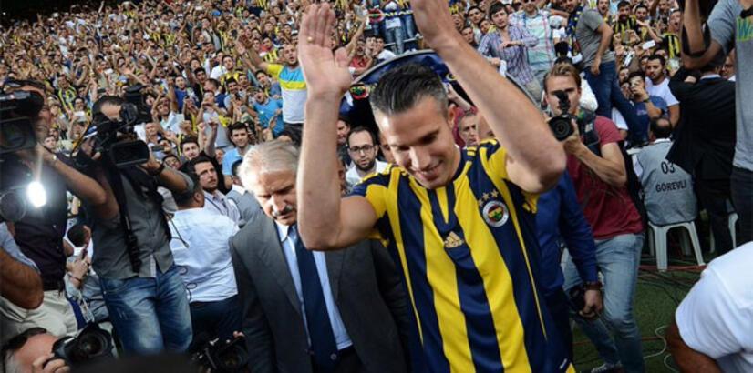 Van Persie: 'Fenerbahçe'de full kapasite ile çalıştım ama...'